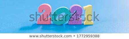 calendar days with numbers close up Stock photo © mizar_21984