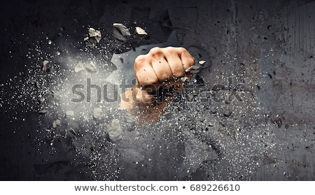 Breaking Through Walls Stock photo © Lightsource