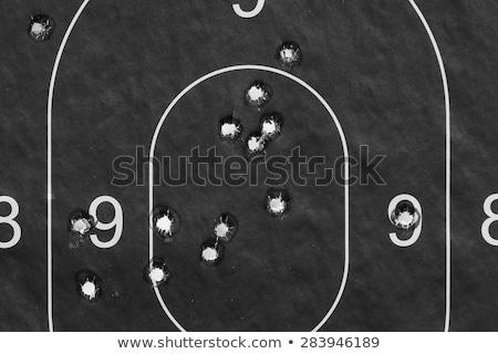 Cél lövedék fegyver lövés sport hadsereg Stock fotó © nicemonkey