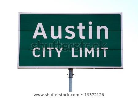 Austin City Limit Sign Stock photo © BrandonSeidel