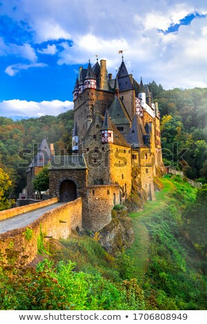 Burg Eltz - one of the most beautiful castles of Europe. Germany stock photo © Freesurf