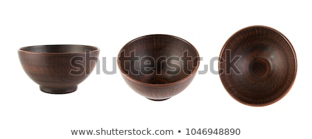 brown ceramic dishware Stock photo © restyler