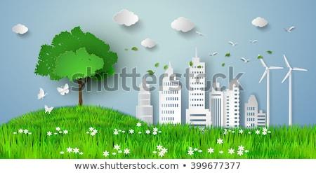 Erba mondo pianeta erboso verde terra Foto d'archivio © make