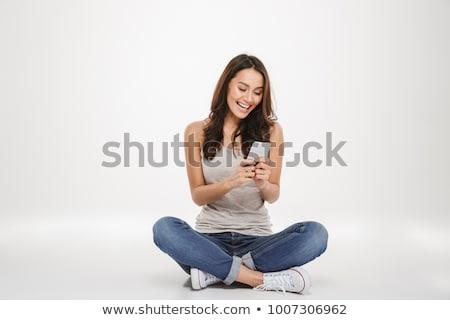 vrouw · tonen · ingewanden · model · menselijke · lichaam - stockfoto © julenochek