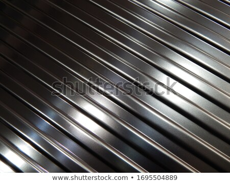 Black and grey metal stainless steel background with diagonal stripes Stock photo © kurkalukas