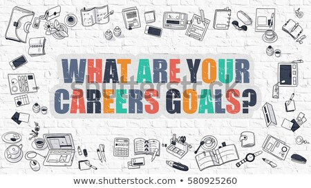 Training and Development Concept. Multicolor on White Brickwall. Stock photo © tashatuvango