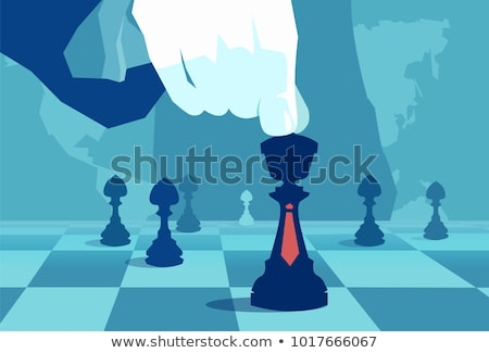 chess game chess in a flat style stock photo © Olena