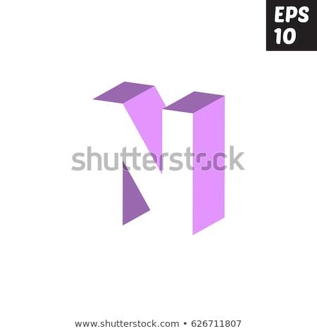 creative logo letter n design for brand identity company profil stock photo © davidarts