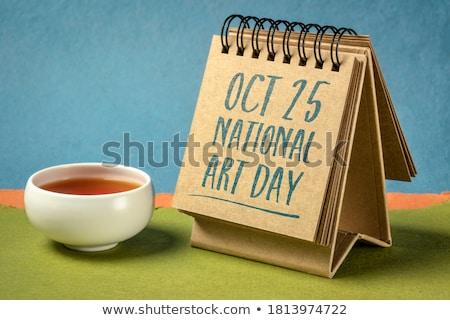 Stock photo: 25 october  International Artist Day