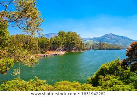 dam lake Stock photo © Antonio-S