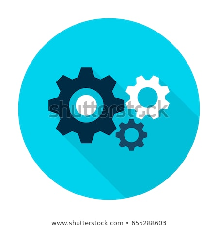 Wheels flat icons Stock photo © biv