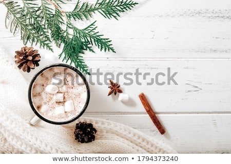 koffieboon · beker · afbeelding · koffie · koffiebonen · voedsel - stockfoto © fisher