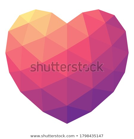 Heartbeat male and female colors icon. vector illustration isolated on white background. stock photo © kyryloff