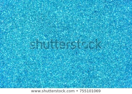 Blau glitter Textur Weihnachten Makro Stock foto © Lana_M