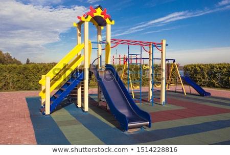 пусто · площадка · цепь · Swing · город · дети - Сток-фото © hamik