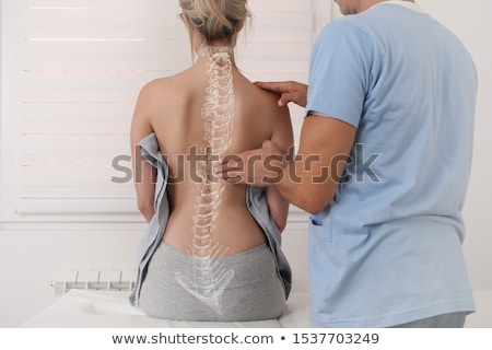Spine Therapy Stock photo © Lightsource