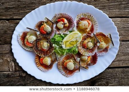 Receta típico galicia España peces petróleo Foto stock © lunamarina