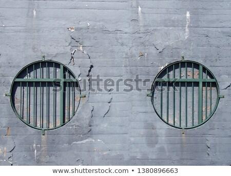 fachada · casa · velha · janela · parede · abstrato · urbano - foto stock © boggy