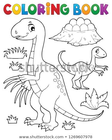 Boyama Kitabi Dinozor Goruntu Kitap Doga Yumurta