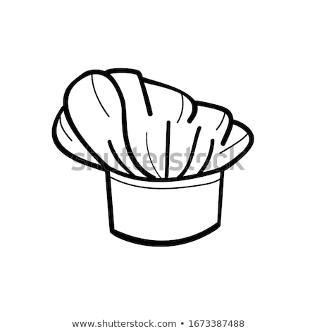 ikon · şef · restoran · siluet · çatal · bıçak · takımı - stok fotoğraf © pikepicture