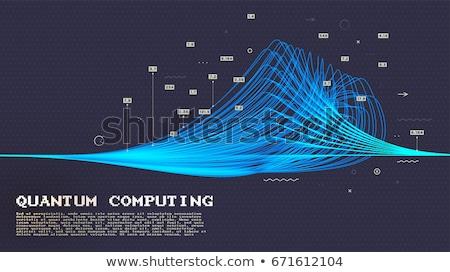 Kunstmatig poster vector tekst Stockfoto © robuart