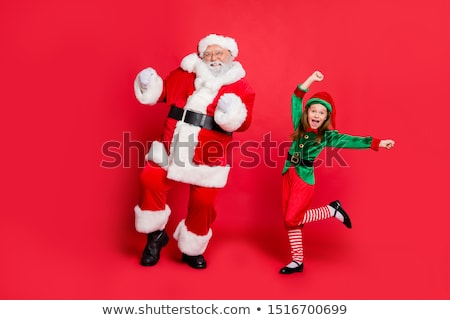 Feminino elfo dom branco mulher Foto stock © colematt