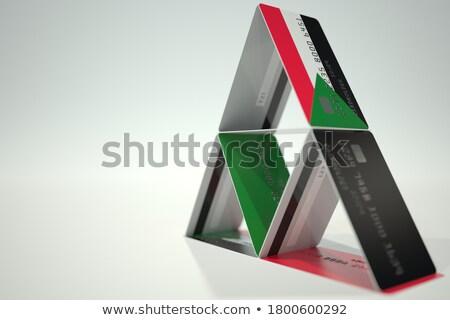 house with flag of sudan stock photo © mikhailmishchenko
