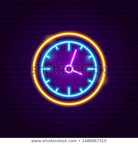 reloj · establecer · oficina · digital · temporizador · cronógrafo - foto stock © anna_leni