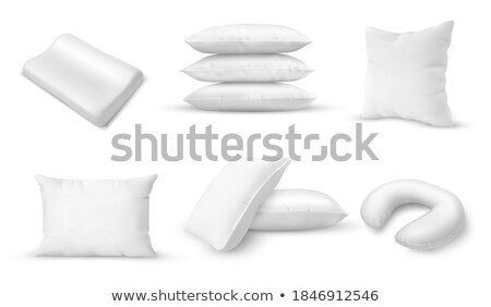 pillows for sleeping in different form set vector stock photo © pikepicture