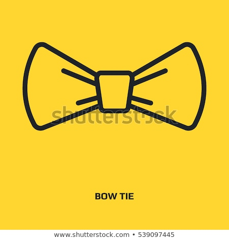 Ribbon Bow Tied in Knot Used as Decor for Gifts Stock photo © robuart