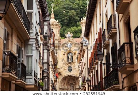 Bazilika szent kórus Spanyolország barokk római Stock fotó © borisb17
