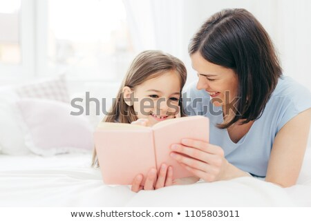 Bent lövés kellemes néz női gyermek Stock fotó © vkstudio