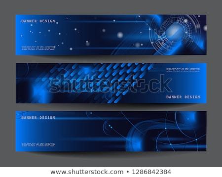 Futuro tecnologia criador anunciar bandeira vetor Foto stock © pikepicture
