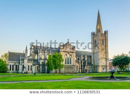 St Patrick's Cathedral, Dublin, Ireland Stock photo © borisb17