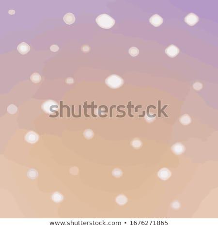 Bright glitters on a soft blue background, EPS 8 Stock photo © beholdereye