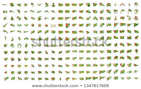 very big collection of vector flags of the Togo Stock photo © butenkow