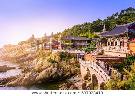 Haedong Yonggungsa Temple. Busan, South Korea Stock photo © dmitry_rukhlenko