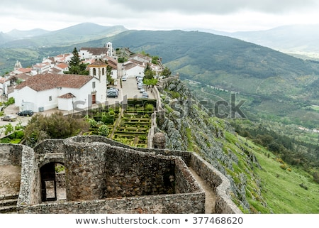 Citadel of Marvao, Portugal Stock photo © ribeiroantonio