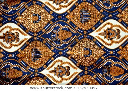 Indonesian fabric design details Stock photo © antonihalim