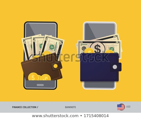 金貨 ウォレット 実例 革 背景 にログイン ストックフォト © vectomart