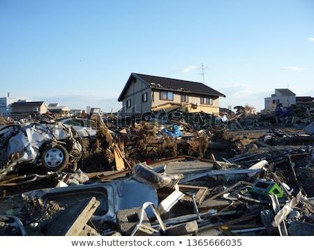 日本 地震 ストックフォト © yoshiyayo