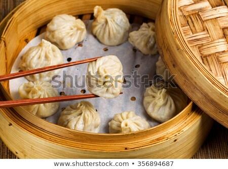 Chinese dumplings Stock photo © sahua