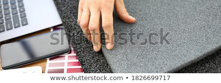 Construction worker ordering building materials Stock photo © photography33