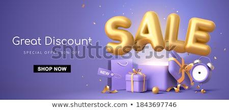 3d gift box stock photo © chrisroll