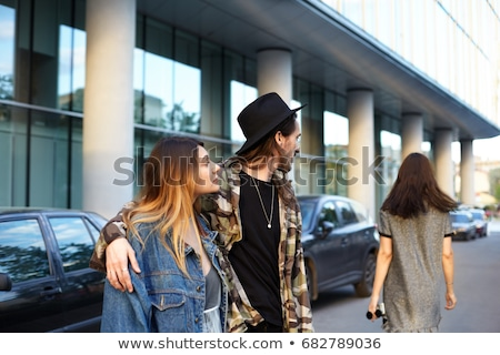 Man gazing at his girlfriend in admiration Stock photo © photography33