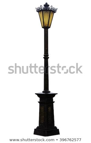 Vintage street lamps stock photo © vaximilian