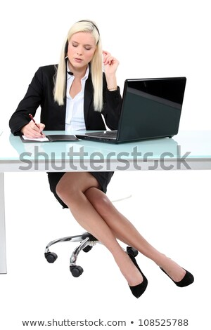Secretary scoring event Stock photo © photography33