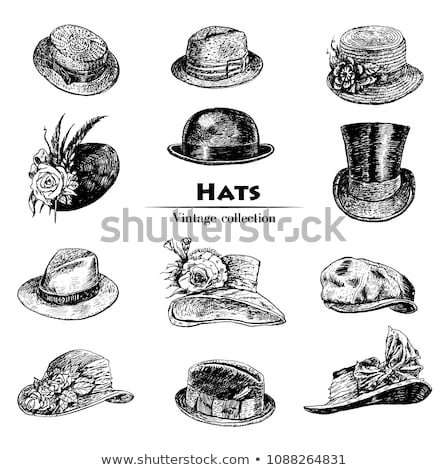 Vintage hat Stock photo © Stocksnapper