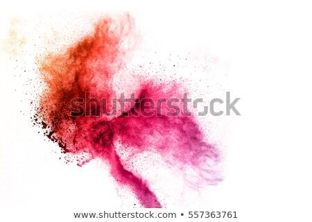 Foto d'archivio: Rosso · spot · bianco · superficie · texture