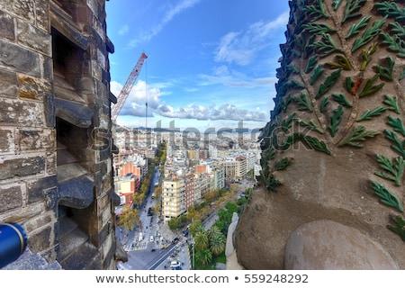 window inside Sagrada Familia Stock photo © prill